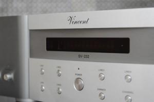 Усилитель Vincent SV-232 –идеальная пара для CD проигрывателя Vincent CD-S4
