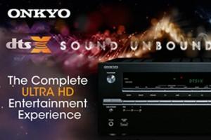 Новые сетевые ресиверы Onkyo TX-NR646 и TX-NR747 с поддержкой системы кодирования цифрового звука DTS: X