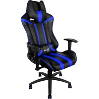 Кресло Aerocool AC120BB Black Blue