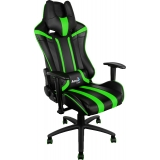 Кресло Aerocool AC120BG Black Green